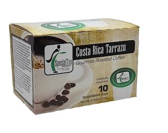 Costa Rica Tarrazu, Single Serve Coffee Cups (10 count)