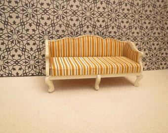 Vintage Lundy Doll House Sofa