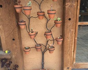 Amazing wrought iron plant stand