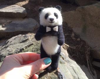 Needle Felted Miniature Panda