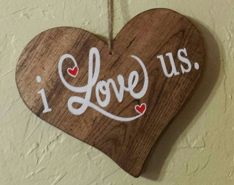 I Love Us, Valentine's Day, Gift Ideas, Wife Gifts, Husband Gifts, Boyfriend Gift Ideas, Girlfriend Gift Ideas, Romantic Gifts, I Love You
