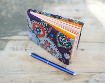 Little Purple Floral Journal