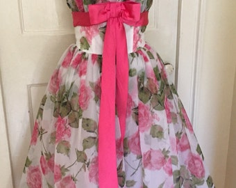 Rose Floral Dress/Gown