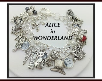 ALICE in WONDERLAND #1 bracelet jewelry classic inspired by Uberjewelrydesigns