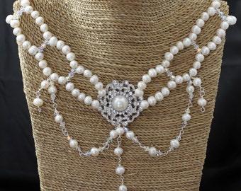 BRIDAL NECKLACE - Wedding Jewellery  - ELIZABETTA