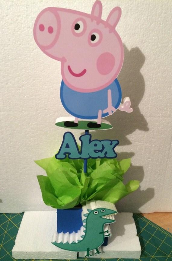 6 Peppa pig boy themed centerpiece : il570xN8387979895upc from www.etsy.com size 570 x 865 jpeg 99kB