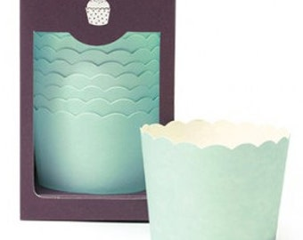 MINT Green Solid Baking Cups (25 Count)