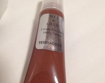 TERRACOTA, Eye Color, Brown Eye Shadow, Cream Eye Shadow 0.37 oz