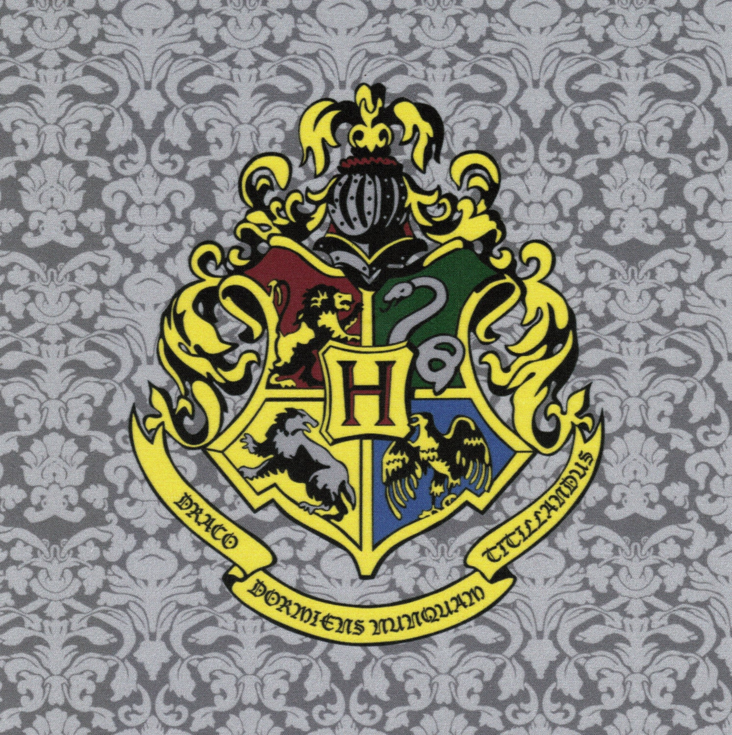 This is a photo of Gutsy Hogwarts Crest Printable