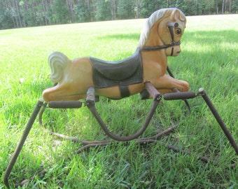 Vintage Ride On Amp Rocking Toys Etsy