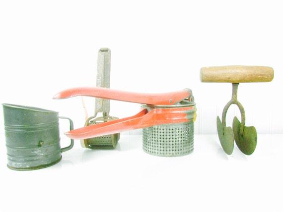 vintage kitchen utensils kitchen collectible chopper