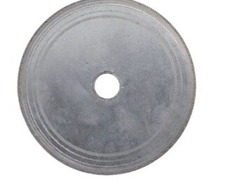 "6"" Value Thin Diamond Lapidary Trim Saw Blade 0.009 or 0.012 or 0.015 Kerf 5/8"" to 1/2"" Arbor"