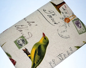 """Macbook Pro 17"""" Case, 17 inch Laptop Sleeve, Macbook Pro, Custom Size for Your Laptop 17"""", Laptop Cover, Padded Sleeve With Pocket- Birds"""