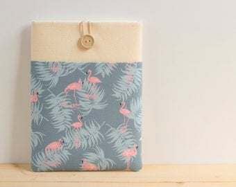 "15 inch Macbook Pro, Retina case 15"" Custom Laptop sleeve / Flamingos"