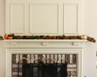 Handmade Fresh Magnolia Garland - 6 feet