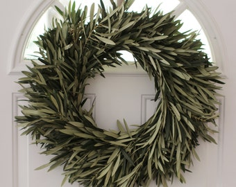 "Olive Branch Wreath - 20"" Easter Wreath"