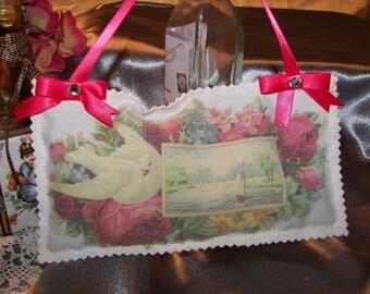 Lavender Sachet, Vintage Valentine