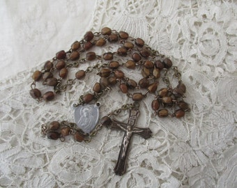 French rosary glass 1920's