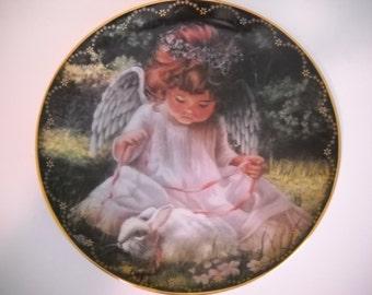 Decorative Plate  An Angel's Kiss