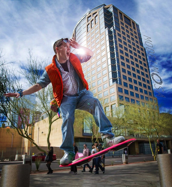 Where Can I Buy A Hoverboard >> Marty McFly Hoverboard Inspired Prop Replica Back to the