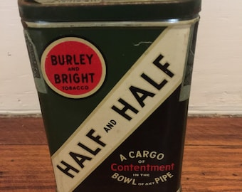 Burley and Bright Half and Half Tobacco