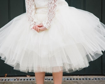 items similar to white special occasion tutu dress