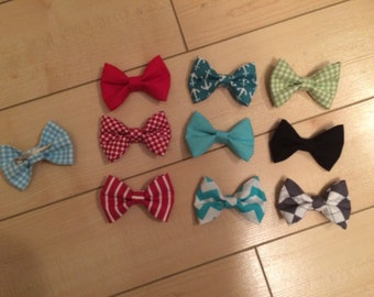Clip-on Bowties (Quantity 2)