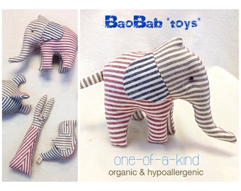 Organic Baby Toy,Stuffed Elephant