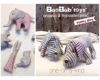 Organic Baby Toy ~ Dog