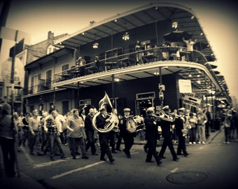 Street Party | New Orleans | Louisiana | Home Decor | Wall Art | Fine Art Photography | Print | Matted