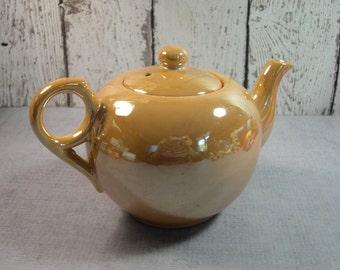 Japanese Lustreware teapot shimmery finish