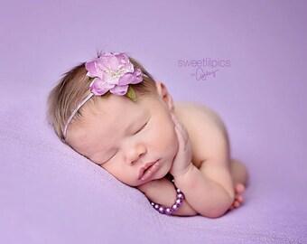 CHOOSE COLOR, Flower Headband, Newborn Headband, Pink Headband, Pink Flower, Baby Headband, Photo Prop, Newborn Headband, Photography Prop