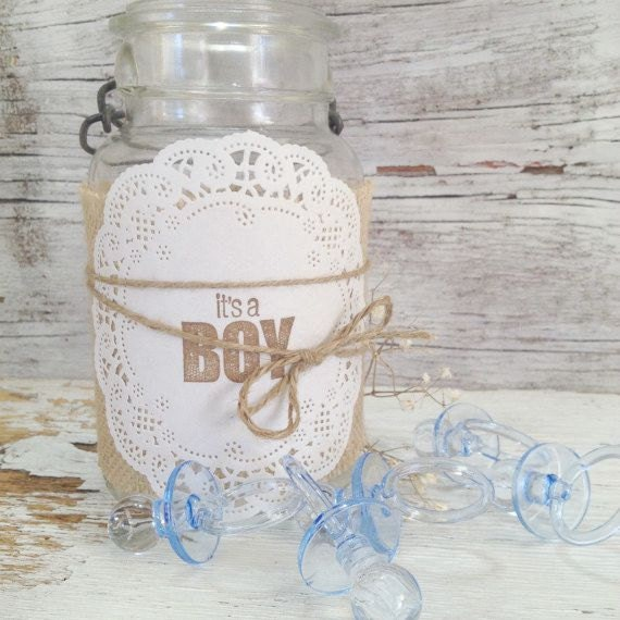 Baby Shower Jar Decorations ~ Diy baby shower decorations for jars by denadanielledesigns