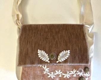 Unique Brown Shoulder Bag