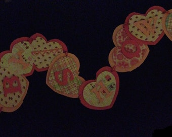 Handmade Girl Baby Shower Banner