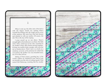 Amazon Kindle Skin - Traveler by Brooke Boothe - Sticker Decal - Fits Paperwhite, Fire, Voyage, Touch, Oasis