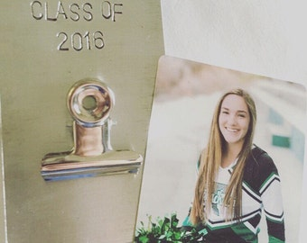 Class of 2016 magnet, graduation gift, any year available, class picture holder