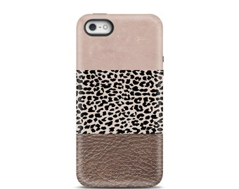 Leopard iPhone 5 case, iPhone 5s case, iPhone 6 case, iPhone 6 Plus case, iPhone 7 Plus case, iphone 6 case tough, iPhone 5s case tough