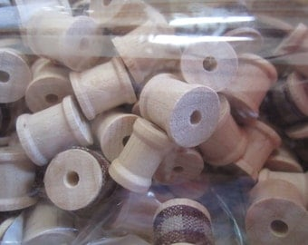 131 Wooden Spools