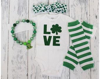 St Pattys Bodysuit, First Saint Patricks Day, Baby Saint Patty's, Newborn Saint Patrick's, Lucky Charm Bodysuit, Lucky Outift, Irish Baby