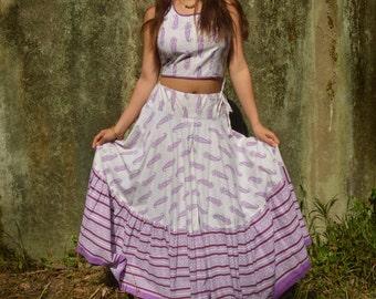 Purple Paisley Set