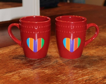 R&F Coffee Mugs set of 2