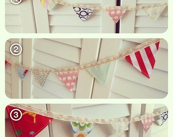 2m x Mini Bunting - single sided