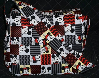 Mickey/Minnie Mouse Diaper Bag