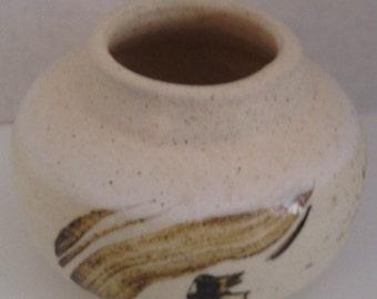 Wheel Thrown  Bottle Vase