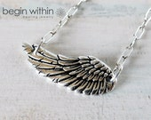 Angel Wing Necklace / Gua...