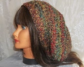 Slouchy Hats  Dreadlocks Accessory  Tam  Snood  Bohemian  Hippie