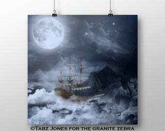 Neverland Fantasy Art Limited Edition Print