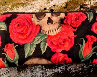 """Purse """"Skulls & Roses"""""""