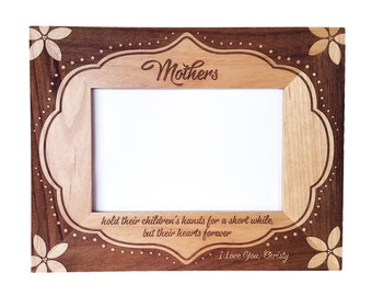 mothers mom mothers day frame personalized - Mothers Day Picture Frame